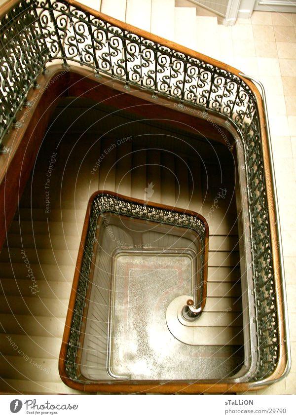 aufgang Architektur Treppe Geländer Jugendstil Modern Art