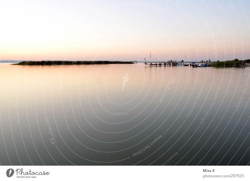 noch mehr Meer ruhig Ferien & Urlaub & Reisen Sommerurlaub Natur Landschaft Schönes Wetter Küste Seeufer Insel Unendlichkeit Stimmung Horizont Idylle