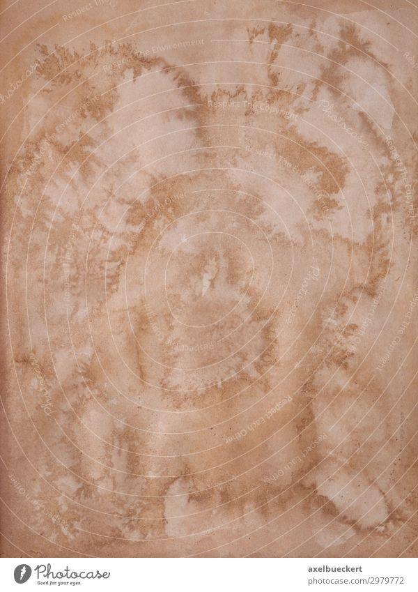 alte Buchseite mit Stockflecken retro braun Hintergrundbild Grunge altehrwürdig scheckig stockfleck Wasserschaden antik vergilbt Muster Strukturen & Formen
