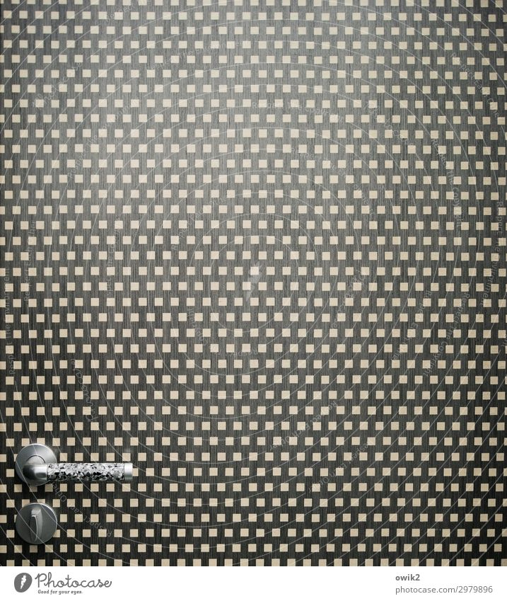 Sammlerstück Tür Griff Design Kunststoff einfach Identität Farbfoto Gedeckte Farben Innenaufnahme Nahaufnahme Detailaufnahme abstrakt Muster Strukturen & Formen