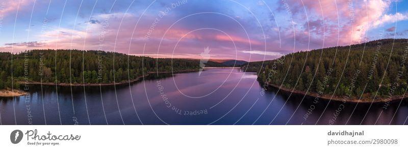 Schwarzenbachtalsperre Ferien & Urlaub & Reisen Tourismus Ausflug Abenteuer Sightseeing Drohne Technik & Technologie Luftverkehr Umwelt Natur Landschaft Wasser
