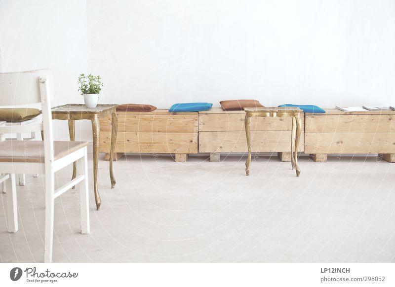 Mondbasis schön Stadt ruhig Ferne hell Wohnung Design Lifestyle Häusliches Leben ästhetisch Tisch retro Stuhl Möbel trendy Sitzgelegenheit