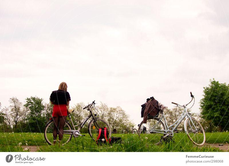 Endlich Frühling! :) Freizeit & Hobby feminin 1 Mensch 13-18 Jahre Kind Jugendliche 18-30 Jahre Erwachsene Bewegung Natur Fahrradtour Gesundheit Freundschaft
