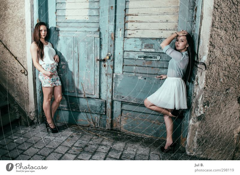 Outdoor Mensch feminin Stil Stimmung Körper Klima