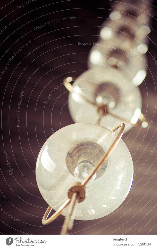 Lampenkette grün Lampe braun Glas Kette Glühbirne
