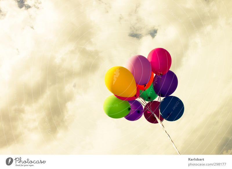 DIY Himmel Sommer Farbe Freude Wolken Herbst Glück Feste & Feiern Party Kindheit Geburtstag Freizeit & Hobby Lifestyle Idylle Beginn Dekoration & Verzierung