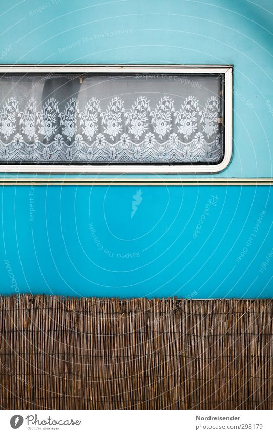 Dauercamper Freizeit & Hobby Ferien & Urlaub & Reisen Freiheit Ruhestand Fenster Fahrzeug Wohnmobil Wohnwagen Verpackung Kunststoff Erholung Häusliches Leben