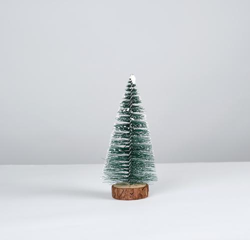 Weihnachtsdekoration Neujahrsbaum Stil Design Dekoration & Verzierung Weihnachten & Advent Silvester u. Neujahr Baum Spielzeug stehen neu grün weiß Tradition