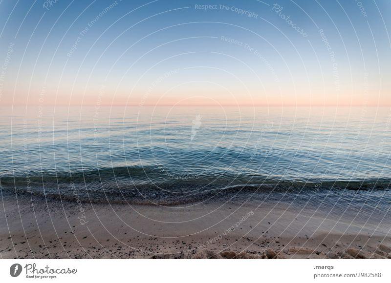 Week-end a la mer sardinien Meer Wellen Strand Dämmerung Ferien & Urlaub & Reisen Erholung Schönes Wetter Horizont Wolkenloser Himmel