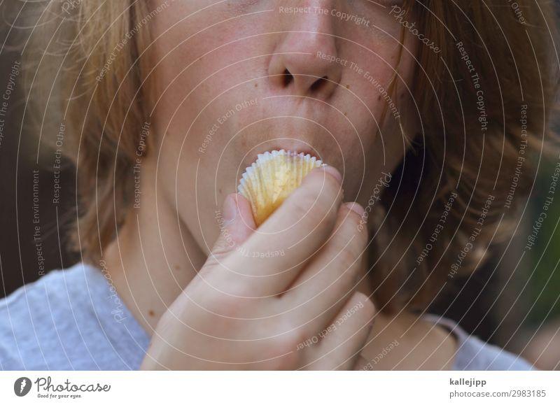 schleckermaul Kind Mensch Jugendliche Lebensmittel Gesicht Essen Junge Haare & Frisuren Kopf süß Kindheit Finger Mund Nase festhalten
