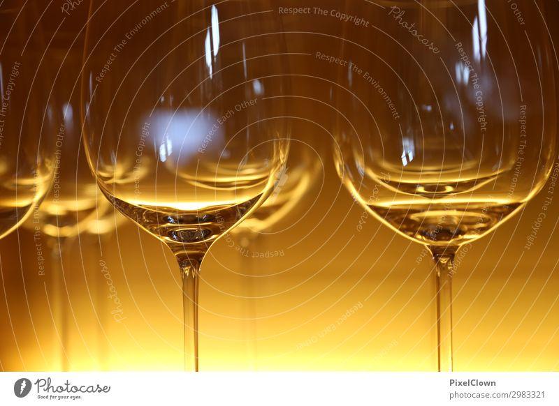 Gläser Abendessen Festessen Geschäftsessen Getränk trinken Alkohol Wein Stil Nachtleben Entertainment Party Bar Cocktailbar Glas Feste & Feiern ästhetisch