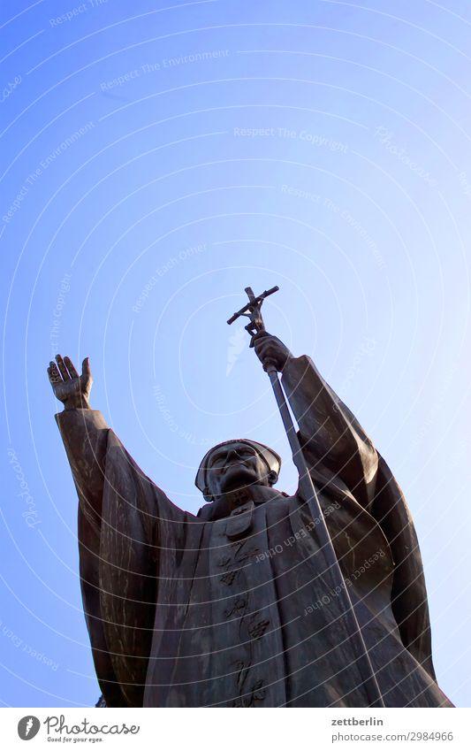 Der Papst Päpste johannes paul 2. würdenträger pontifex stellvertreter gottes Gott Religion & Glaube wojtyla Katholizismus Christentum Segnung Gebet