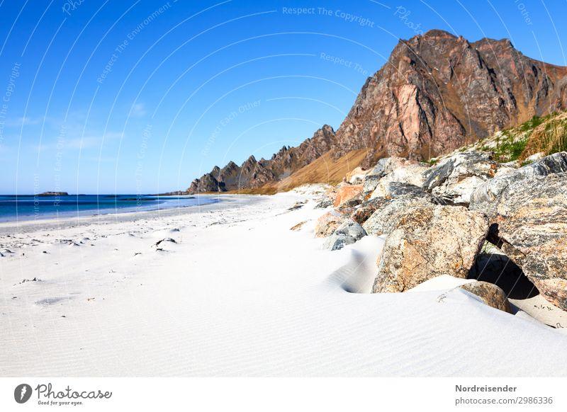 Vesterålen Ferien & Urlaub & Reisen Tourismus Abenteuer Ferne Freiheit Camping Sommer Sommerurlaub Sonne Strand Meer Natur Landschaft Sand Wasser Schönes Wetter