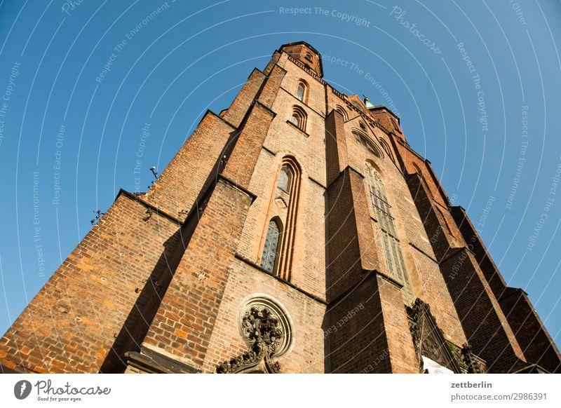 Marienkirche, Legnica (tags) alt Altstadt antik Haus Religion & Glaube Kirche Kirchturm Christentum Katholizismus legnica malerisch Polen Schlesien Stadt