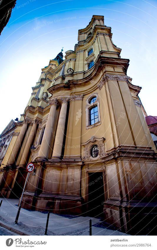 Barockkirche (Legnica) alt Altstadt antik Haus Religion & Glaube Kirche legnica liegnitz malerisch Polen Schlesien Stadt Palast Palais Kesselstadt