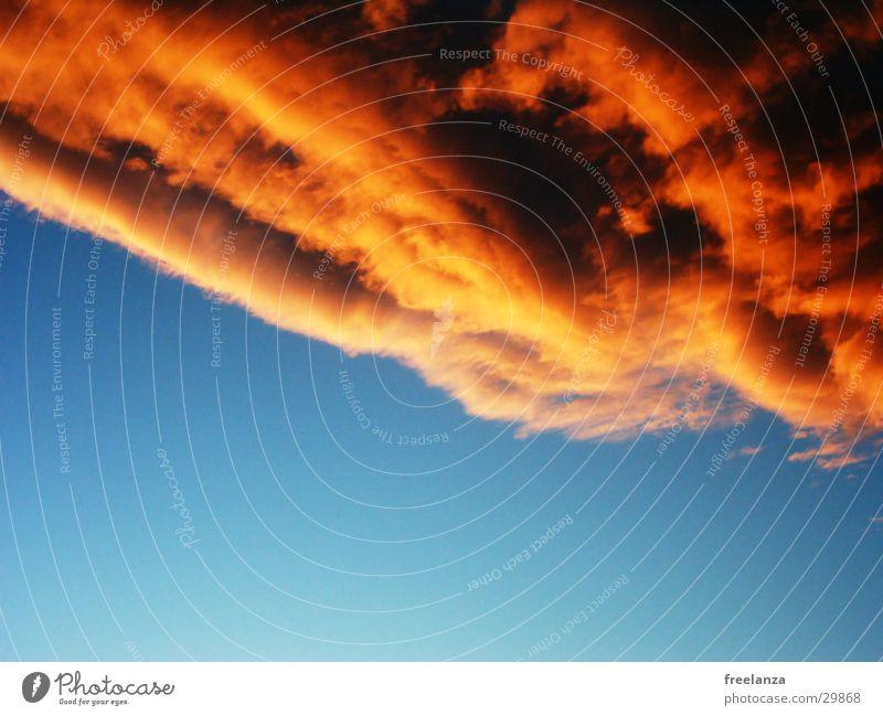 rote Wolke schön Himmel blau Ferien & Urlaub & Reisen Wolken Kroatien