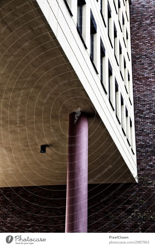 Urbane Träume Tourismus Ausflug Häusliches Leben Wohnung Nachtleben Stadt Hochhaus Industrieanlage Bauwerk Gebäude Architektur Ferien & Urlaub & Reisen braun