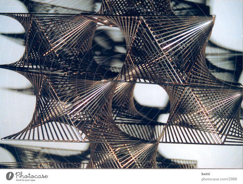 metall-style Skulptur Fototechnik Metall Netz