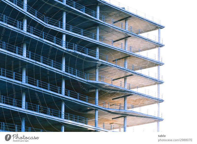 work in progress... Architektur Wand Berlin Business Gebäude Mauer Fassade Arbeit & Erwerbstätigkeit Hochhaus Beginn Schönes Wetter Industrie
