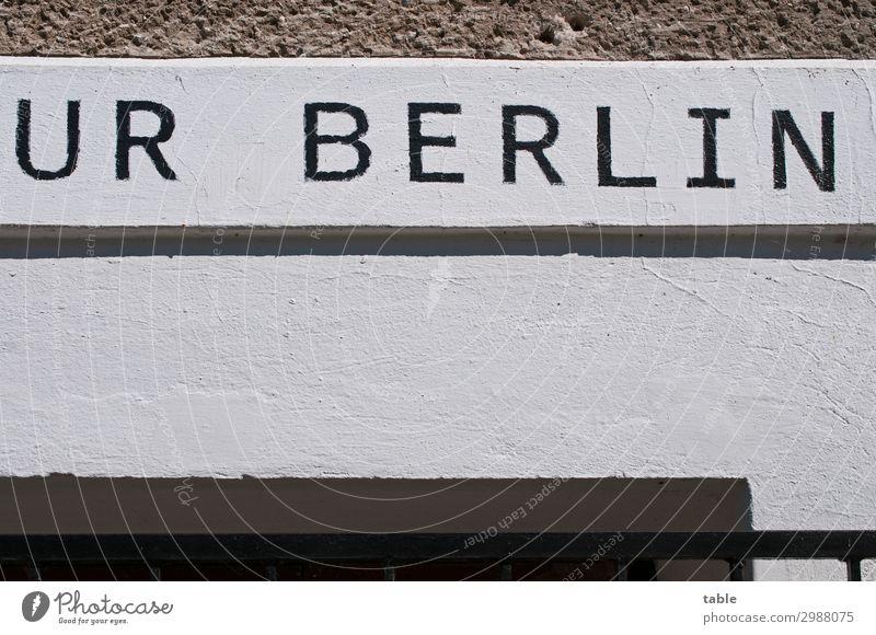 """also ick kaufe ein """"A""""... alt Stadt weiß Haus schwarz Architektur Wand Gefühle Gebäude Mauer außergewöhnlich Stein Fassade grau Häusliches Leben Linie"""