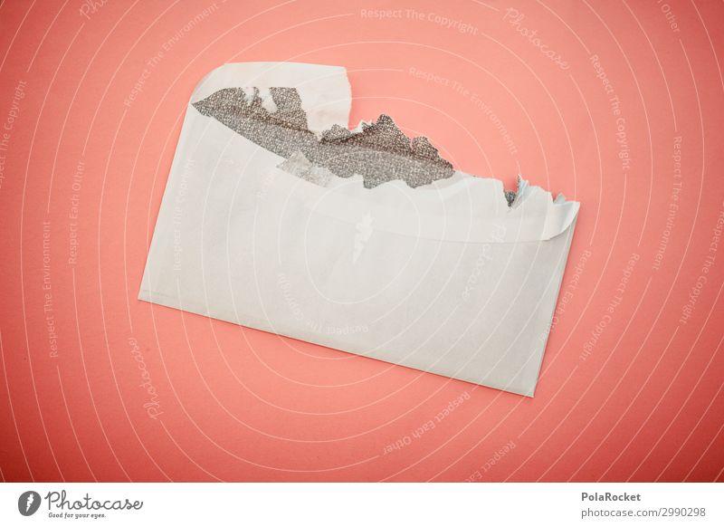 #A# Sie haben Post II Kunst ästhetisch Briefumschlag Information gelesen offen Postbote Postamt Versand senden erhalten Farbfoto Gedeckte Farben Innenaufnahme