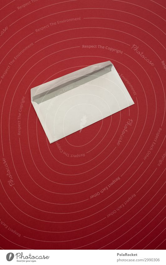 #A# Sie haben Post V Kunst Kunstwerk ästhetisch graphisch Postbote Postmoderne Brief Briefmarke senden Versand analog Information Farbfoto mehrfarbig