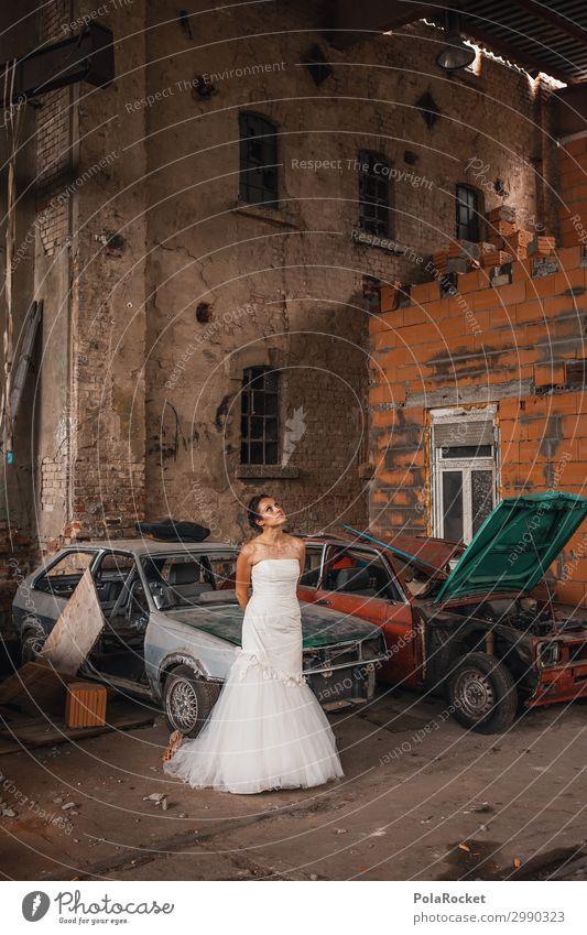 #A# Location-Check Kunst Kunstwerk ästhetisch Braut Brautkleid Brautschleier Hochzeit Hochzeitstag (Jahrestag) Hochzeitszeremonie location Örtlichkeit Frau