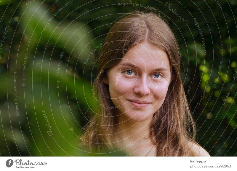 fridays for future Mensch Natur Jugendliche blau schön grün Baum Mädchen Gesicht Auge Umwelt feminin Garten Haare & Frisuren Kopf 13-18 Jahre