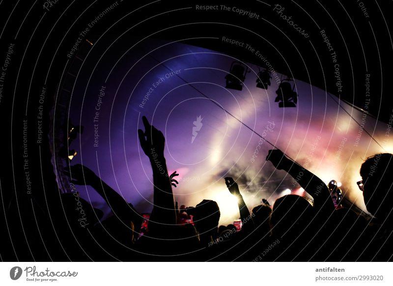 Party on Mensch Jugendliche Freude Lifestyle Erwachsene Leben Feste & Feiern Stimmung Musik Kultur Lebensfreude Tanzen Show Veranstaltung Konzert