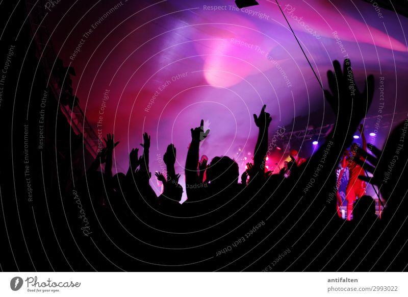 Hoch die Hände, Wochenende :-) Mensch Jugendliche Hand Freude 18-30 Jahre Erwachsene Leben Glück Feste & Feiern Party Musik Fröhlichkeit genießen Arme Tanzen