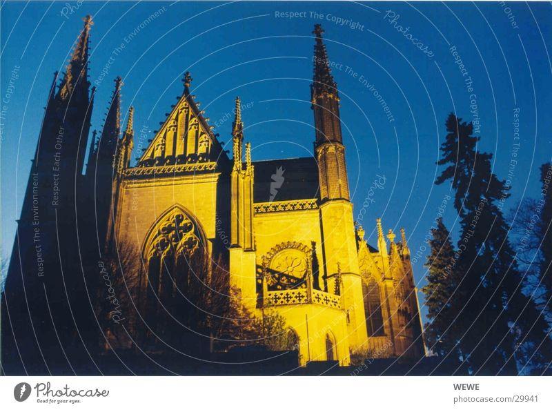 Apollinariskirche Nacht Abend Weitwinkel Gotteshäuser Religion & Glaube Abenddämmerung Architektur