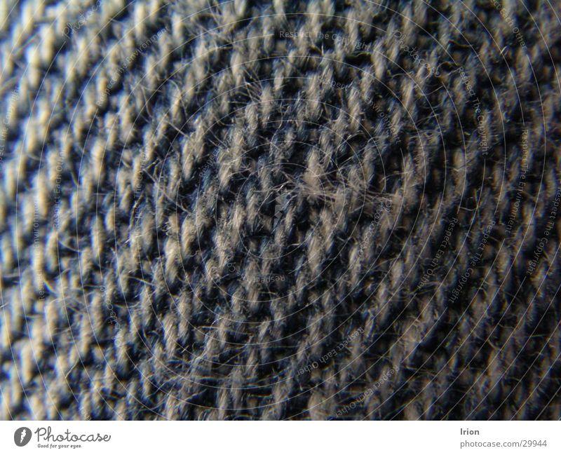 Jeansstoff Stoff Makroaufnahme Nahaufnahme Jeanshose blau Strukturen & Formen Detailaufnahme Irion