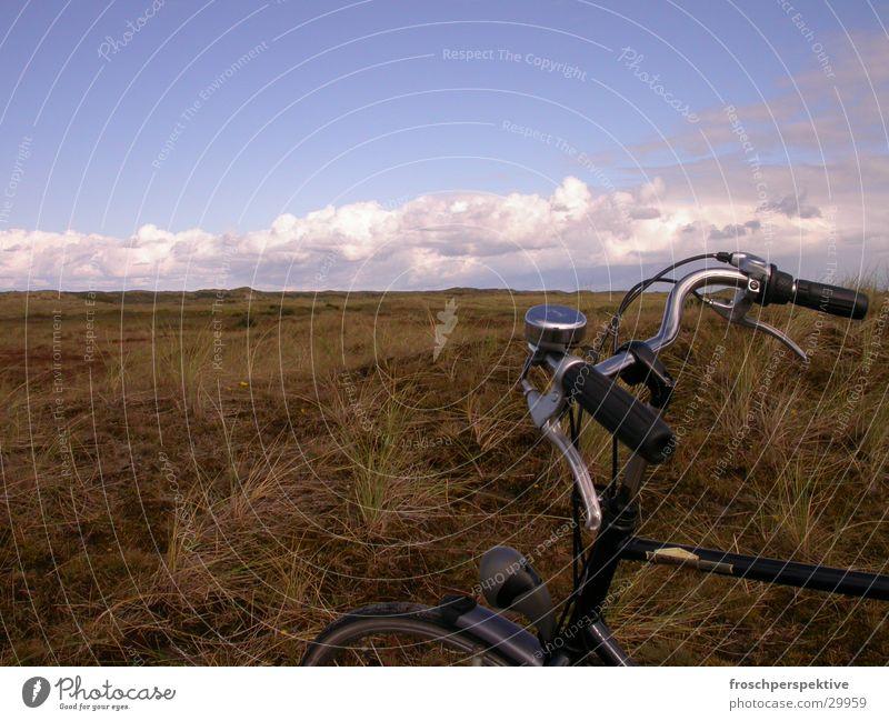 radeln Horizont Europa Nordsee Grasland Steppe Niederlande