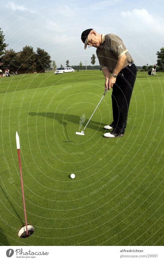 Puttinggreen Sport Holz Golf Eisen Mikrochip Golfplatz Golfball Golfer Pitsching Golfturniere