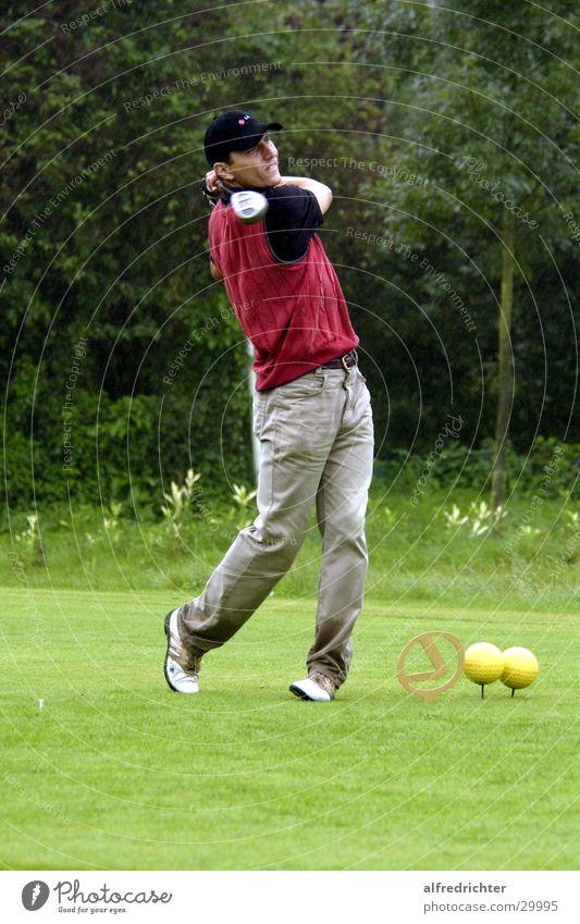 Tee 1 Abschlag Golfturniere Mikrochip Sport Golfing Drive Golffball Putt Putting Golfplatz Pitch