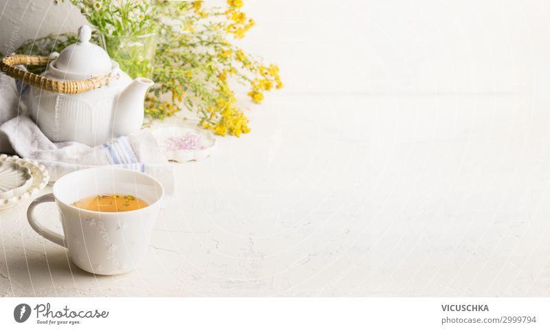 Kräutertee Hintergrund Gesunde Ernährung weiß Foodfotografie Gesundheit Lebensmittel Hintergrundbild gelb Gesundheitswesen Stil Design Kräuter & Gewürze Getränk