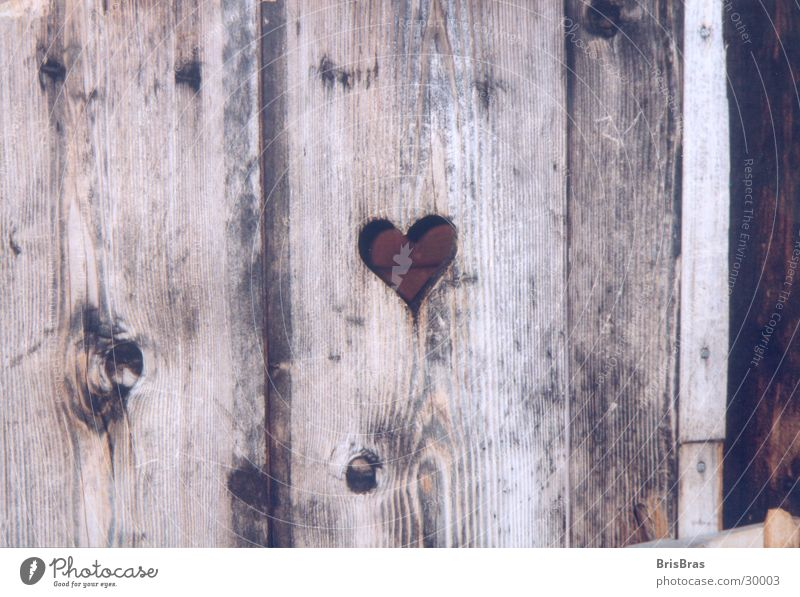 Herzchen Dorf Alm Holz rustikal Freizeit & Hobby unterwegs Bayern Toilette Natur