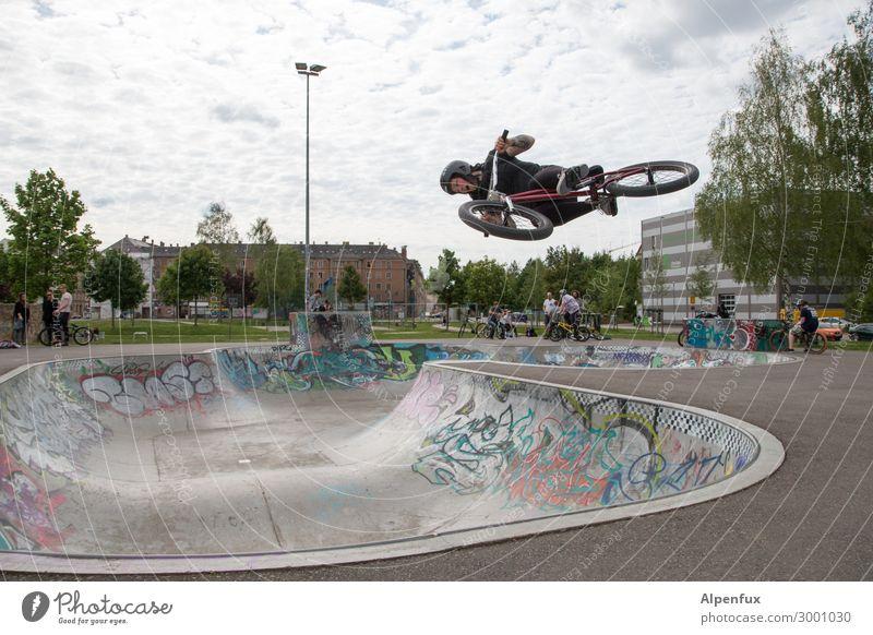 AST 10 | Umkehrpunkt Fahrradfahren Halfpipe fliegen Tapferkeit selbstbewußt Coolness Erfolg Kraft Willensstärke Tatkraft Höhenangst Flugangst Abenteuer Angst