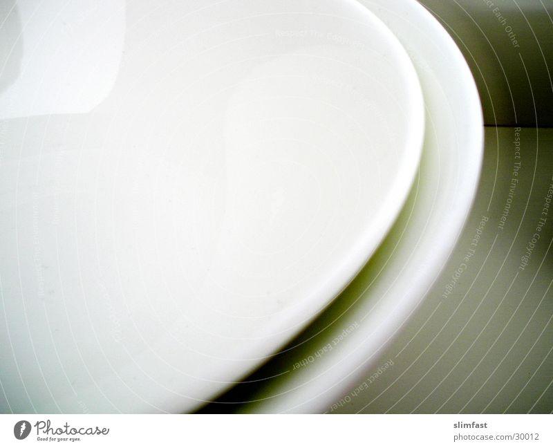 Teller-Rand Geschirr Stillleben Küche Detailaufnahme Ernährung