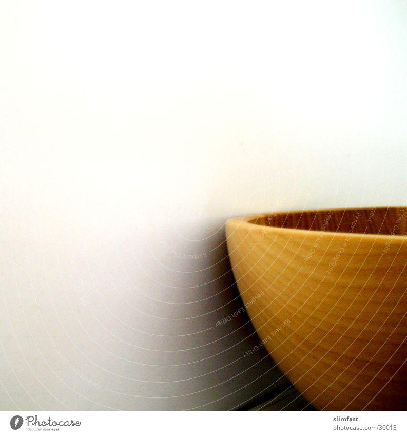 Holzschale ruhig Küche Häusliches Leben minimalistisch Holzschale