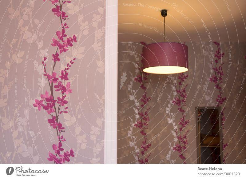 Firlefanz   Zimmerschmuck Ferien & Urlaub & Reisen Pflanze Lifestyle Innenarchitektur Stil außergewöhnlich Lampe rosa Stimmung Dekoration & Verzierung Raum