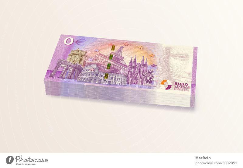 Null Euro Banknoten Geld Handel Kapitalwirtschaft Börse Geldinstitut Sehenswürdigkeit Papier Zeichen Business verlieren Geldscheine Europa