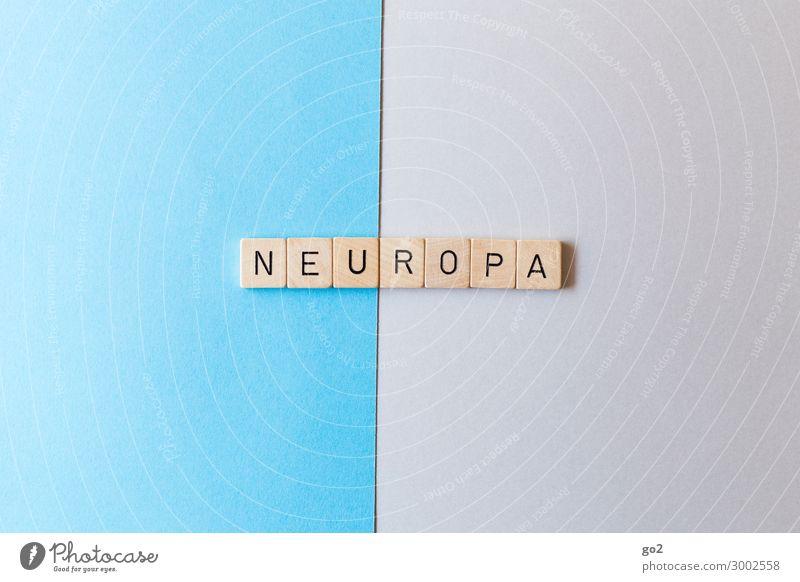 Neuropa Europa Papier Holz Schriftzeichen ästhetisch Unendlichkeit neu positiv Optimismus Mut Tatkraft Neugier Interesse Hoffnung Beginn Fortschritt Freiheit