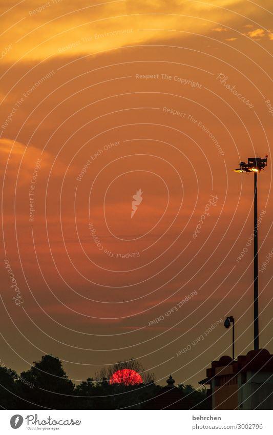 der letzte macht das licht aus Ferien & Urlaub & Reisen Tourismus Ausflug Abenteuer Ferne Freiheit Himmel Wolken Sonne Stadt Flughafen außergewöhnlich