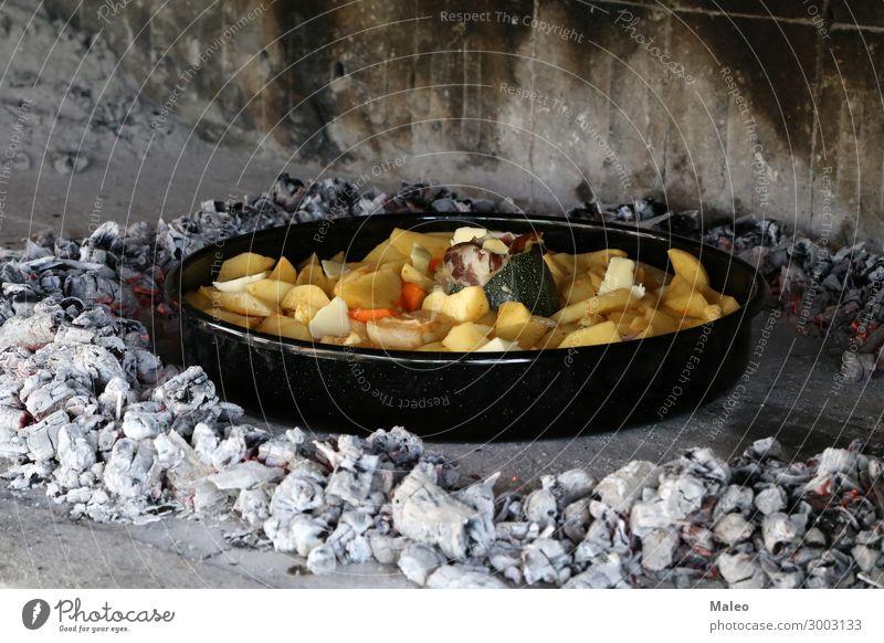 Grillgerichte Eintopf Lebensmittel Fleisch Abendessen kochen & garen Mittagessen Mahlzeit lecker Feinschmecker Speise grillen Rindfleisch Lammfleisch