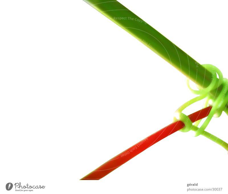 Naturgrafik Natur weiß grün Pflanze rot Stengel Grafik u. Illustration