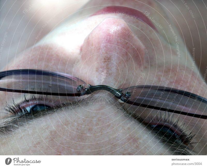Augen Frau Gesicht Haare & Frisuren Mund Nase Brille Augenbraue
