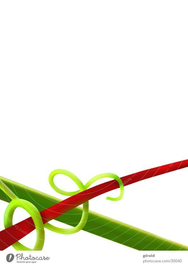 Naturgrafik 5 weiß grün Pflanze rot Stengel Grafik u. Illustration
