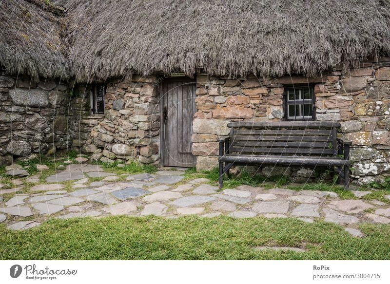 Historisches Gebäude in Schottland. Lifestyle Stil Design Ferien & Urlaub & Reisen Tourismus Sightseeing Häusliches Leben Haus Kunst Museum Architektur Umwelt
