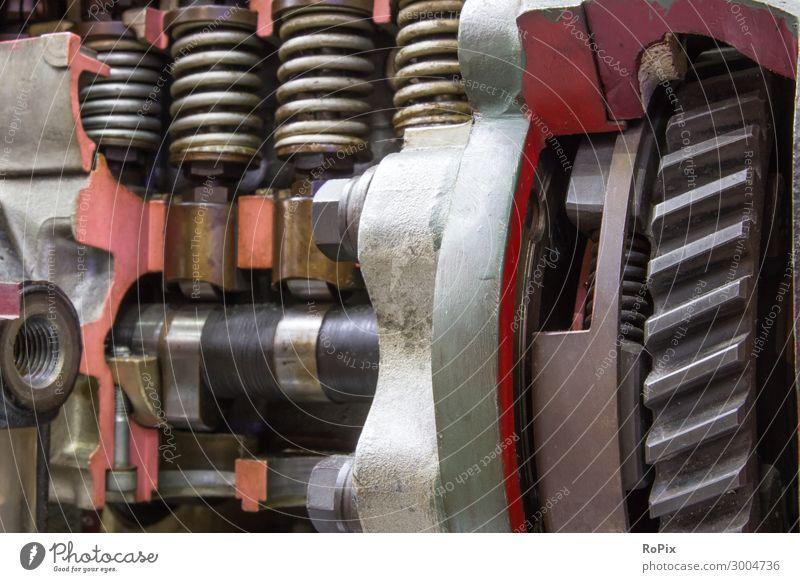 Detail einer Hochdruck-Dieseleinspritzpumpe. Lifestyle Design Wissenschaften Arbeit & Erwerbstätigkeit Beruf Arbeitsplatz Fabrik Wirtschaft Industrie Handel